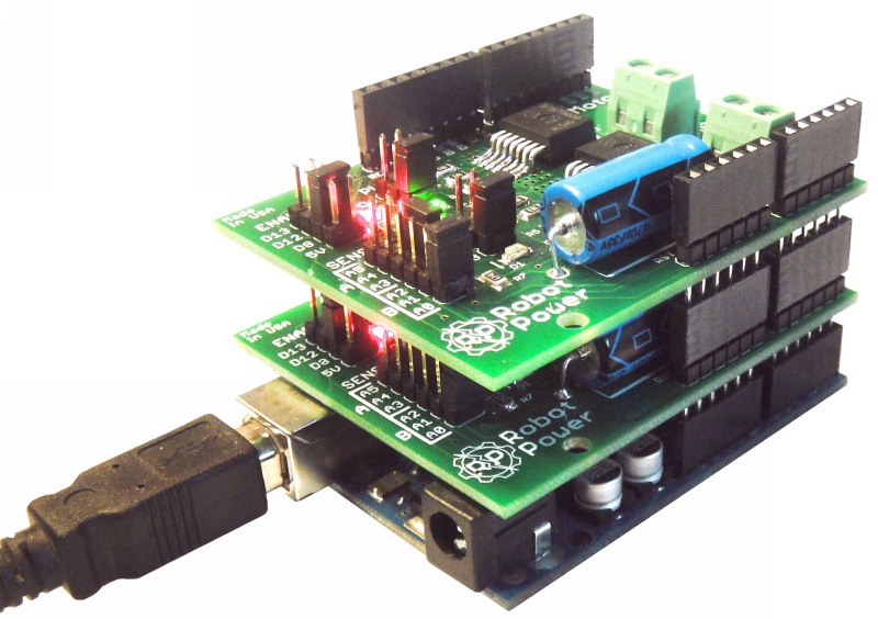 Robot Power Products Megamoto Motor Control Shield For